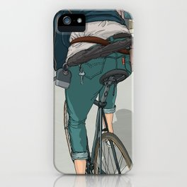 City traveller iPhone Case
