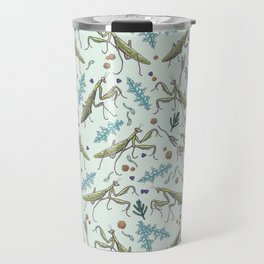 praying mantis in the garden Travel Mug