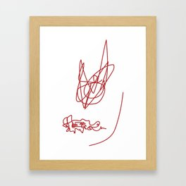 Instincts Framed Art Print