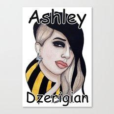 Ashley Dzerigian is TRESPASSER Canvas Print