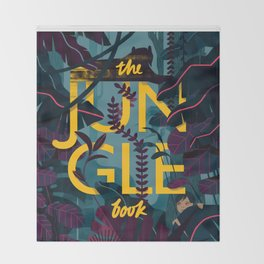 The Jungle Book Throw Blanket