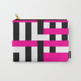 Licorice Bytes, No.18 in Black and Pink Carry-All Pouch