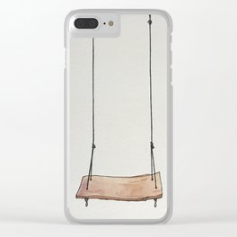 Don't Forget to Play Clear iPhone Case