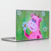 cow Laptop & iPad Skins featuring Cow by OLHADARCHUK