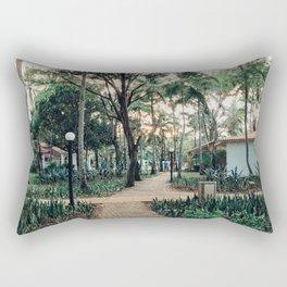 Pathway to Paradise Rectangular Pillow