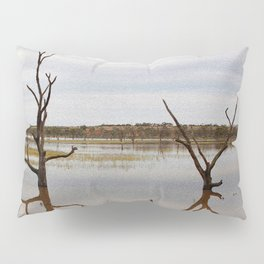 Dead Trees in the River Pillow Sham