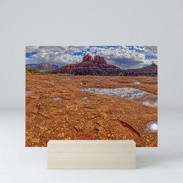 Cathedral Rock super Panorama Mini Art Print