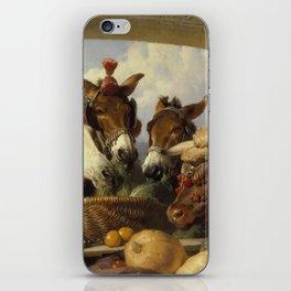 Edwin Landseer -  A Group Of Animals  Genevacirca iPhone Skin