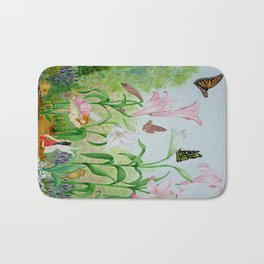 Fairy Garden#1 Bath Mat