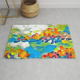Splashes Of Color Rio de Janeiro by CheyAnne Sexton Rug