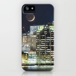 Haligonian Moonset iPhone Case