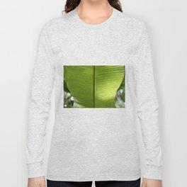 Banana Leaf Tropical Summer 2017 Long Sleeve T-shirt