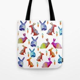 Rabbits Joy Tote Bag