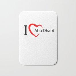 Abu dhabi. I love my favorite city. Bath Mat