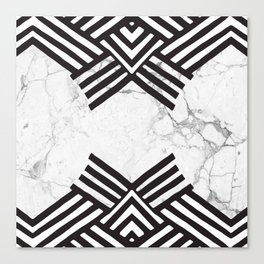 Marble Tribe Canvas Print