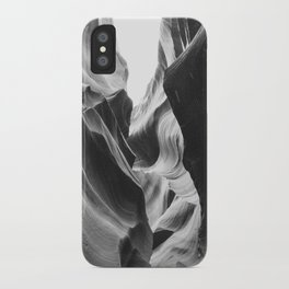ANTELOPE CANYON (B+W) iPhone Case