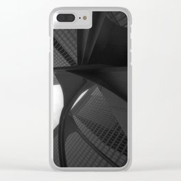 Chicago Sculpture 2 Clear iPhone Case