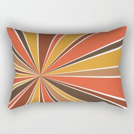 70's Star Burst Rectangular Pillow