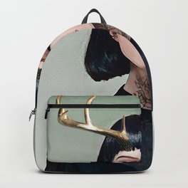 Gold Antlers Backpack