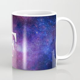 Monogrammed Logo Letter F Coffee Mug