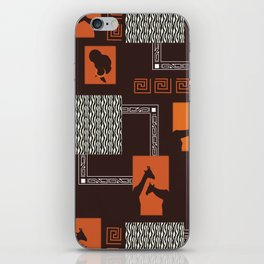African Tribal Pattern No. 28 iPhone Skin