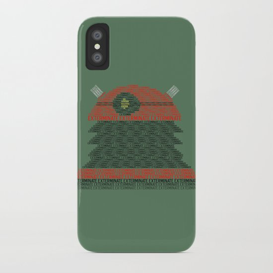 Exterminate (Doctor Who) iPhone Case
