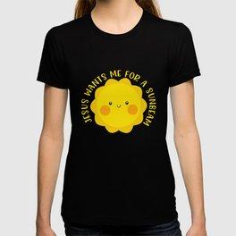 Jesus Wants Me For A Sunbeam Children's Church Song T-shirt