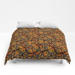Monarch Butterflies Comforters