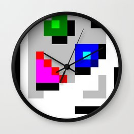Try Harder broken page Wall Clock