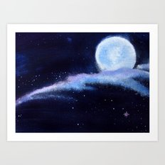 Snippet of Dreamscape Art Print