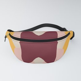Abstract Pastel Butterfly Fanny Pack
