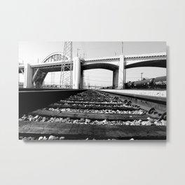 Sixth Street Bridge & Viaduct Metal Print