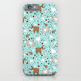 Cute Goats iPhone Case