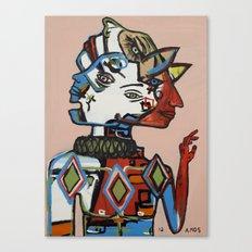 Dispositionism Canvas Print