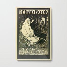 The Chap Book 1895 Metal Print