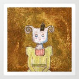 Princess Yvette Art Print
