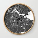Amsterdam Gray on White Street Map by mapmaker