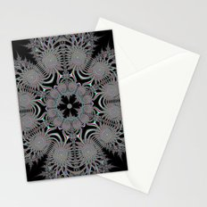 Coloured Snowflake Stationery Cards