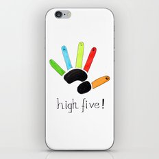 High Five! iPhone & iPod Skin