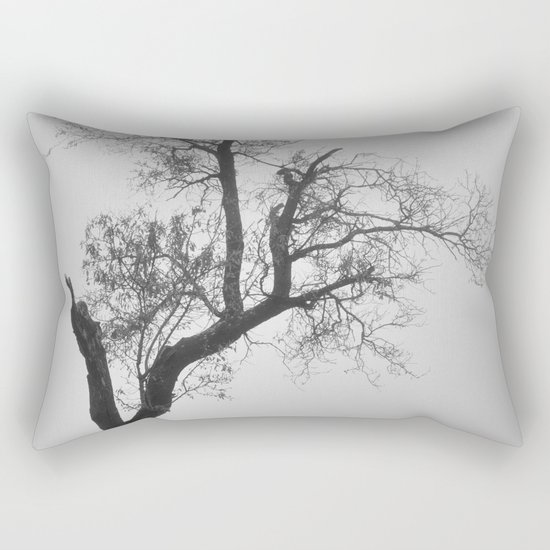 """Zen tree"" Rectangular Pillow"