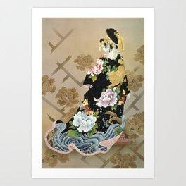 Haruyo Morita - Echigo Dojouji Art Print