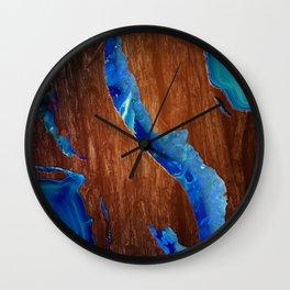 Agate River Wall Clock