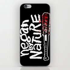 Negan by Nature iPhone & iPod Skin