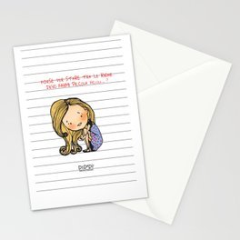 """Tra le righe"" Stationery Cards"