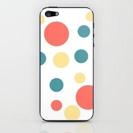 Coral Pop iPhone Skin