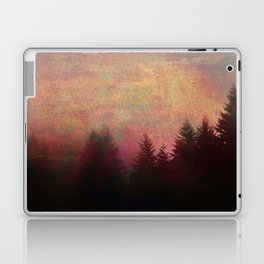 Repose, Abstract Landscape Trees Sky Laptop & iPad Skin