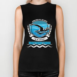Awesome Swimmers Need Little Motivation Athlete Biker Tank