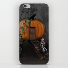 Halloween! Where is the rabbit? iPhone Skin