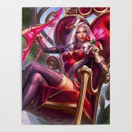 Heartseeker Ashe League Of Legends Poster