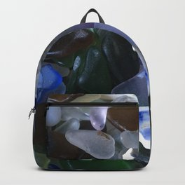 Sea Glass Assortment 4 Backpack